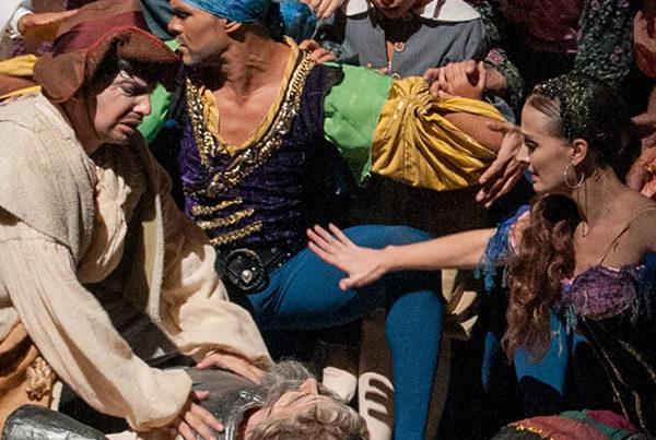 Epreuve Trophée des Arts : theatre